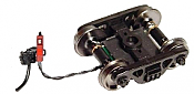 """Ring Engineering EOT-33-LW-R HO Red Enclosure 33"""" Wheels End of Train Device w/Long Wire Length Assembled"""