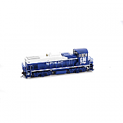 Athearn G69422 HO MP15AC, EMD Demo 116  (DCC and Sound Equipped)