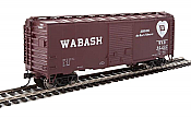 Walthers Mainline 2267 - HO 40ft ACF Welded Boxcar w/8ft Youngstown Door - Wabash #90293