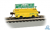 Bachmann 74402 HO - Scale Test Weight Car - Ready to Run - Burlington Northern #979006