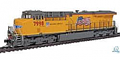 InterMountain 49701-12 ES44AC ESU LokPilot NonSound   Union Pacific No.5507