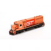 Athearn G40966 HO EMD GP40-2 w/DCC & Sound, Grand Trunk Western  GTW #6413