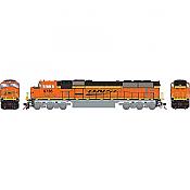 Athearn Genesis G64913 HO Scale - SD70MAC Diesel, w/ DCC & Sound - BNSF #9735