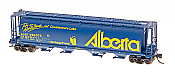 Intermountain 65117-65 N Scale - Cylindrical Covered Hopper - Trough Hatch - Alberta - ALNX #396330 Waskatenau