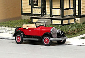Sylvan Scale Models 325 HO Scale - 1927 Jordan Playboy Roadster - Unpainted and Resin Cast Kit