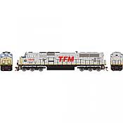 Athearn Genesis G64924 HO Scale - SD70MAC Diesel, w/ DCC & Sound - TFM #1649