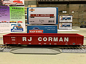 Athearn 97391 HO Scale - RTR 52Ft Mill Gondola, RJCC RJ Corman (3 pack)