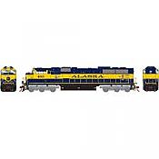 Athearn Genesis G64918 HO Scale - SD70MAC Diesel, w/ DCC & Sound - ARR #4013
