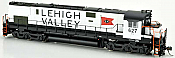 Bowser 24721 - HO ALCo C-628 - DCC/Sound - Lehigh Valley (Snow Bird) #632