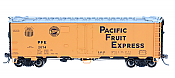 Intermountain Railway 47423-01 R-40-25 Refrigerator Car Pacific Fruit Express Modern Gothic #2074