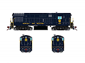 Rapido 044016 HO FM H16-44, Standard DC, Norfolk & Western Blue Scheme No.144