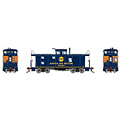 Athearn Genesis 78384 - HO C-20 ICC Caboose w/Lights - DCC & Sound - Norfolk & Western #500854