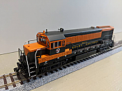Bowser 24523 HO GE U25B DCC Ready - Executive Line Great Northern #2522