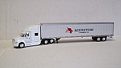 Trucks n Stuff American Tractor/Trailer International Prostar w/53' Van - Meritor