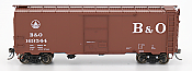 Intermountain 45795-06 HO Scale - 1937 AAR 40Ft Boxcar - B&O - w/ Deco Ends #169571
