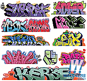 Blair Line 2257 HO Scale - Graffiti Decals Mega Set - Set #8 pkg(11)