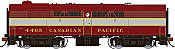 Rapido 22507 HO - DC/DCC/Sound - MLW FB-2 Canadian Pacific #4467 - Pre-order
