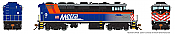 Rapido 19512- HO GMD F59PH - DCC/Sound - Metra #99