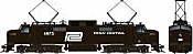 Rapido 84512 HO - EP-5 Electric Loco - DCC & Sound - Penn Central, Black #4975