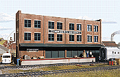 Walther's Cornerstone Background Building Kit-Commissary/Freight Transfer Building