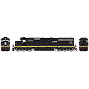 Athearn 70508 HO SD70 IC Yellow Stripe DCC Ready #1009