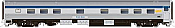 Rapido 119021 HO Scale - Budd Manor Sleeper Original Scheme - VIA Rail, No Number/Name