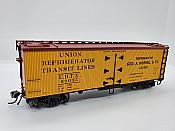 Rapido Trains 121055-1 - HO 37ft General American Meat Reefer - Hormel #68029
