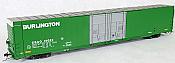Tangent Scale Models 25028-04 - HO Greenville 86ft Double Plug Door Box Car - CB&Q #15041