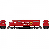Athearn Roundhouse 16329 HO GP38-2 DCC Equipped CPR New Beaver Logo #4405