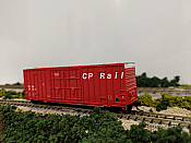 Intermountain 6133007-02 N - Value Line Gunderson 50Ft High Cube DD Boxcar - Flat Roof - CP Rail/ex-MILW #87004