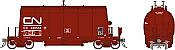 Rapido 143002-6 HO - Long Barrel Ore Hopper - CN Mineral Brown #346681