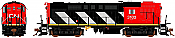 Rapido 32525 HO MLW RS MR-18f Canadian National (Stripes) DCC & Sound -3842 Taking Orders Now