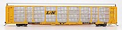 InterMountain 45278-01 HO - Bi-Level Auto Racks - Louisville & Nashville - Trailer Train Flatcar #961999