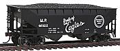 Atlas Trainman 20 002 486 2-Bay Offset Hopper w/Flat End Missouri Pacific #60247