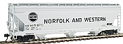 Intermountain Railway 47029-10 HO ACF 4650 Cubic Foot 3-Bay Hopper -  Norfolk & Western 171154