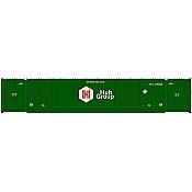 Atlas 20005956 HO 53ft CIMC Container Set, HUB Union Pacific Set #5