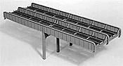 Micro Engineering HO Scale 75523 Thru Girder Bridge 100 Ft Double Track