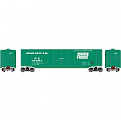 Athearn Roundhouse 79110 HO 50ft Plug Door Smooth Side Box, PC No360193