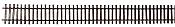 Micro Engineering Standard Gauge Weathered Flex-Track(TM) - 3' Sections pkg(6) - Code 83 Rail w/Wood Ties