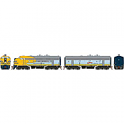 Athearn Genesis G19548 HO Scale - F7 A/B EMD F-Unit Diesel - DCC & Sound - Santa Fe/ Dual Service #339L/348A