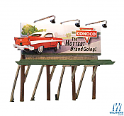 Woodland Scenics 5793 HO Billboard Conoco The Hottest Brand