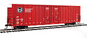 Walthers 2928 Mainline HO 60ft High Cube Plate F Boxcar Canadian Pacific #218281