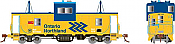 Rapido 110140 HO - Angus Van: Ontario Northland - Chevron #120