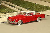 Sylvan Scale Models 303 HO Scale - 1953 Studebaker Two Door Hard Top - Unpainted and Resin Cast Kit