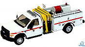 RiverPoint HO 53857A288 Ford F550 XLT Dual Wheel Fire Mini Pumper Truck Park Service White,Red