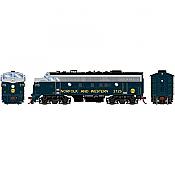 Athearn Genesis 19566 - HO F7A EMD - DCC & Sound  - Norfolk & Western/Freight #3725