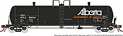 Rapido 135009-F HO Scale - Procor GP20 20K Gal Tank Car: UTLX Early - Gov. of Alberta As Delivered - Single Car #58025