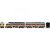 Athearn Genesis 19558 - HO F7A/F7B EMD - DCC & Sound - Erie Lackawanna/Freight #6321/#7133