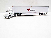Trucks n Stuff TNS149 - HO Kenworth T680 Day-Cab Tractor - 53ft Dry Van Trailer - Cardinal Logistics