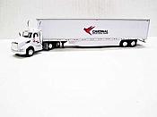 Trucks n Stuff TNS149 - HO Kenworth T680 Day-Cab Tractor - 53ft Dry Van Trailer - Cardinal Logistics
